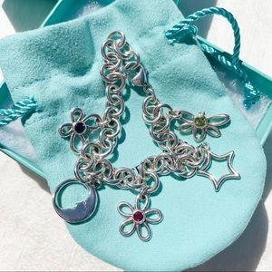 Tiffany & Co. Man In The Moon Gemstone Bracelet